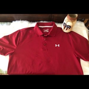 d2f3e18c05 Underarmour Playoff Men's Golf Polo - Size L -EUC